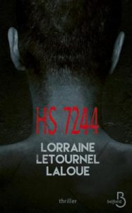 HS 7244 – Lorraine Letournel Laloue – Editions Belfond