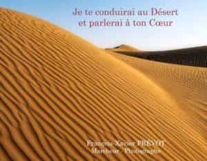 Je te conduirai au Désert et parlerai à ton Cœur – François-Xavier Prévot