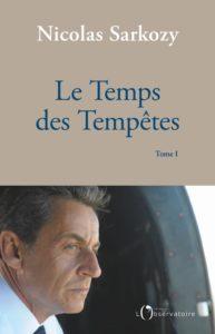 Le Temps des Tempêtes – Nicolas Sarkozy – Éditions de l'Observatoire